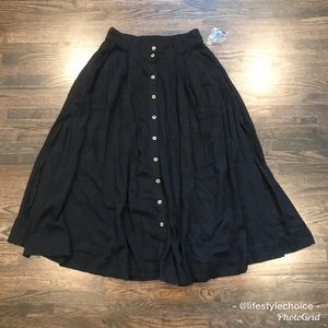 Intimately Free people long pleated skirt